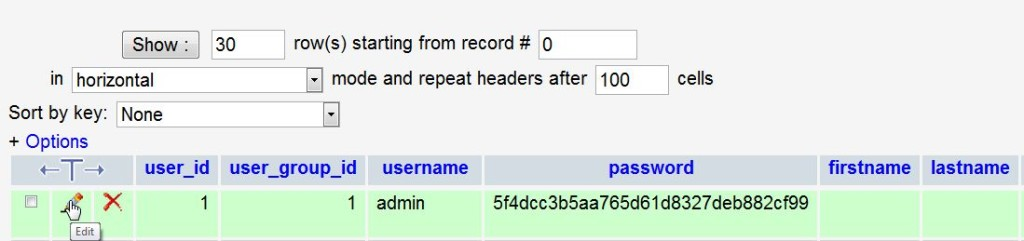 opencart-password