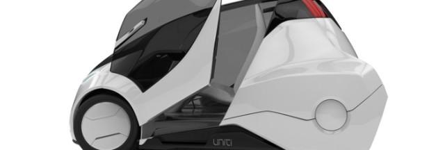 Городской электрокар (электромобиль) Unity