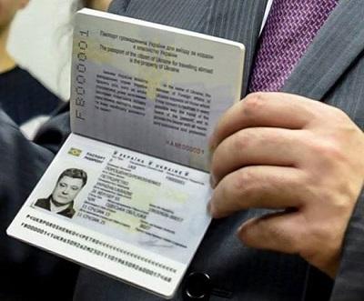 оформить загранпаспорт в Украине