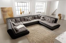 Модульные диваны для гостиной: особенности и плюсы эксплуатации