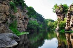 Уникальная природа Букского каньона