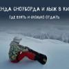 Где взять в аренду лыжи или сноуборд в Киеве
