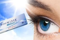Однодневные увлажняющие линзы Acuvue Moist для коррекции зрения