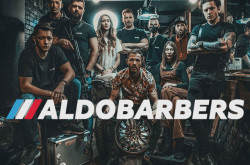Барбершоп Aldobarbers на Майдане
