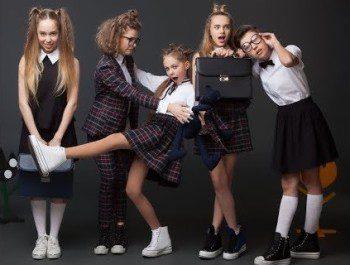 Модная школьная одежда для подростков