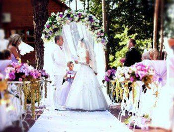 Летняя свадьба – тепло ваших сердец
