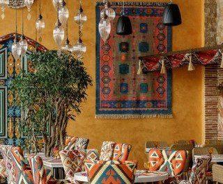 Дизайн интерьера ресторана арабской кухни