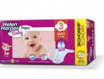 Подгузники Helen Harper – лучший выбор для малышей