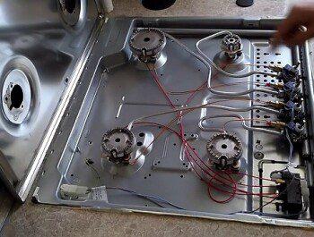 Почему на газовой плите не работает электроподжиг