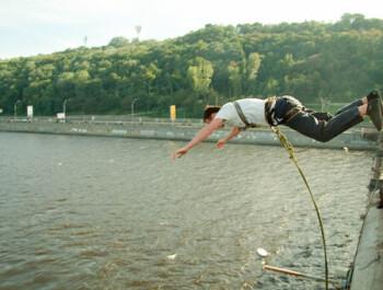 Роупджампинг в Киеве: развлечение для смельчаков