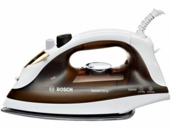 Утюги немецкой компании Bosch с керамической подошвой разгладят все складки на ваших вещах и отпарят все что угодно за 5 минут